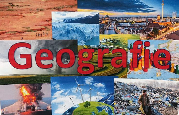 Geografie-Plakat