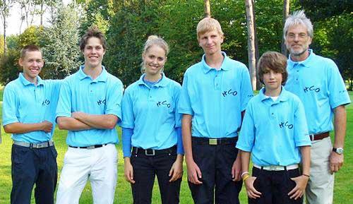 Golfmannschaft 2008