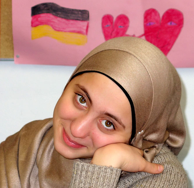 Fatima aus Syrien