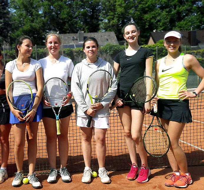 Siegerinnen-Team
