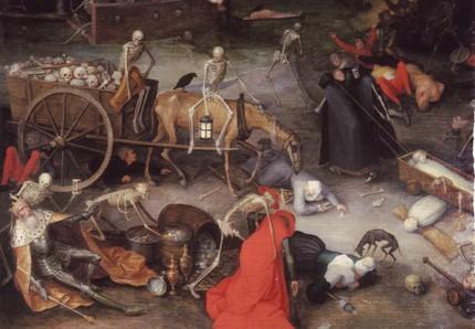 Jan Breughel, Triumph des Todes